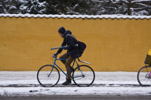 Téli kerékpáros kiegészítők
