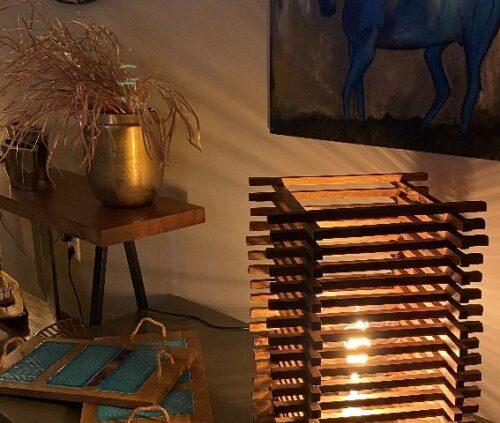 design lámpa
